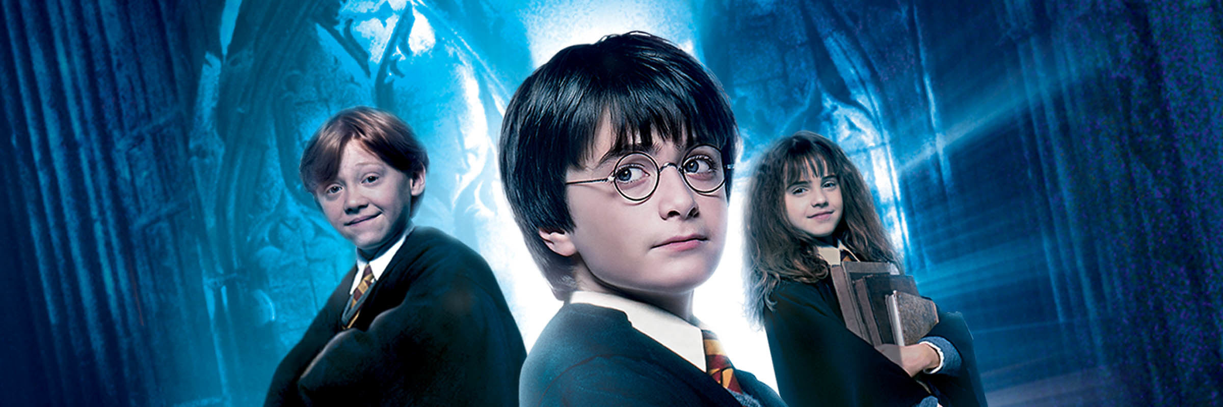 Here is the Banner of Harry Potter and the Sorcerer's Stone!
