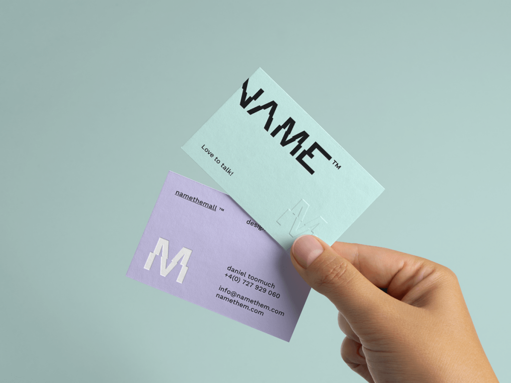 free business card design software