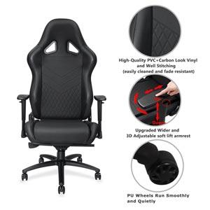 Anda Seat Big and Tall 400lb Gaming Chairs