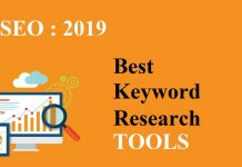 Finest Keyword research tool in 2019