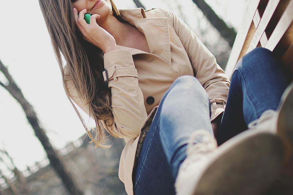 Girl, Talking, Calling, Cell Phone, Mobile, Technology
