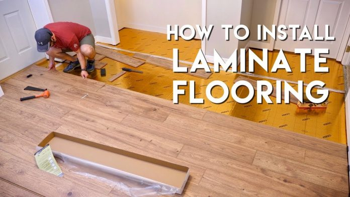 DIY LAMINATE FLOORING INSTALLATION