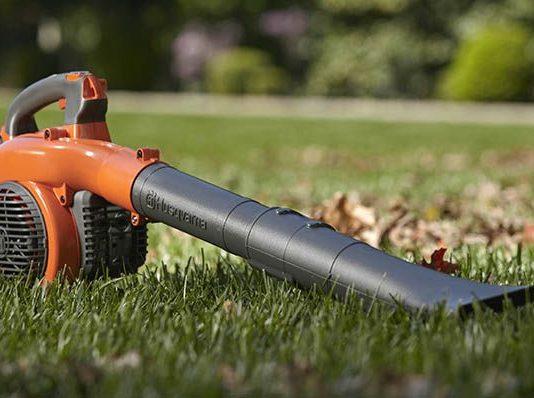 Leaf blower maintenance