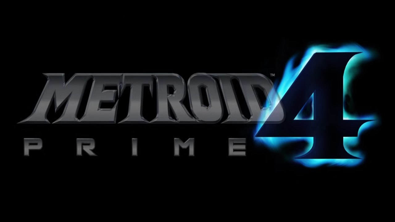 The image shows the logo of the much awaited game Metroid Prime 4