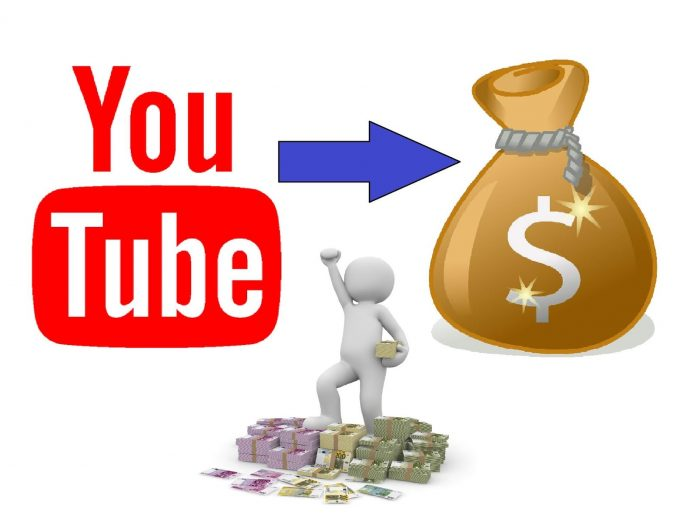 The image depicts how can you be a successful YouTuber and earn money!