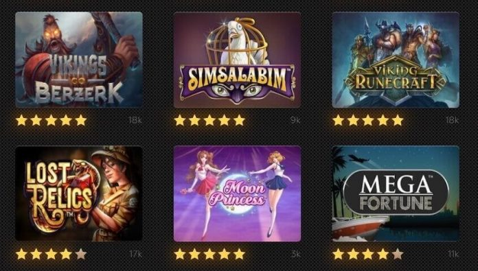 Best Slot machine games