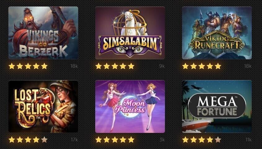 Best Slot machine games