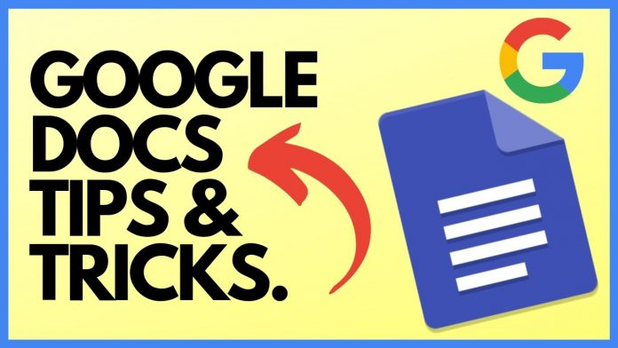 The image shows the Google Docs logo in which we tell how to add a border in easy steps.