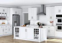 A Beautiful Kitchen Cabinet