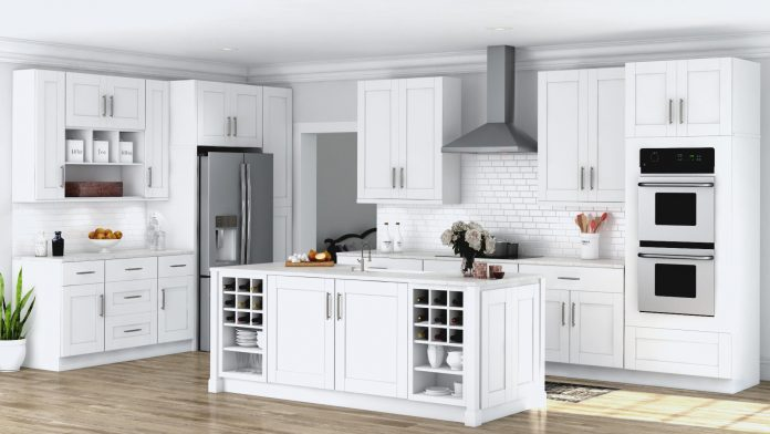 A Beautiful Kitchen Cabinet