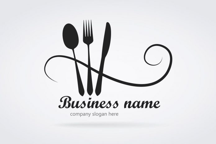 The image shows how your restaurant name and logo can look.