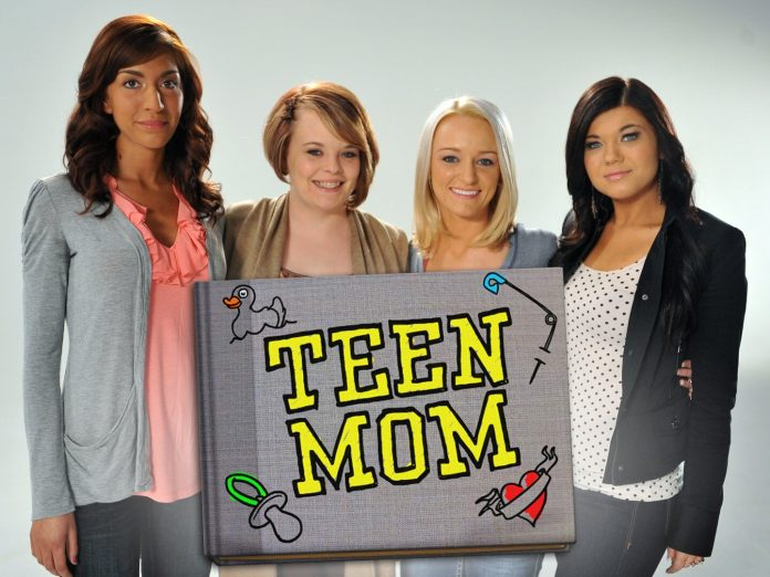 This is the cover of the Teen Mom show