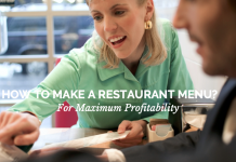 How To Make A Restaurant Menu For Maximum Profitability