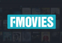 the image shows the logo of Fmovies
