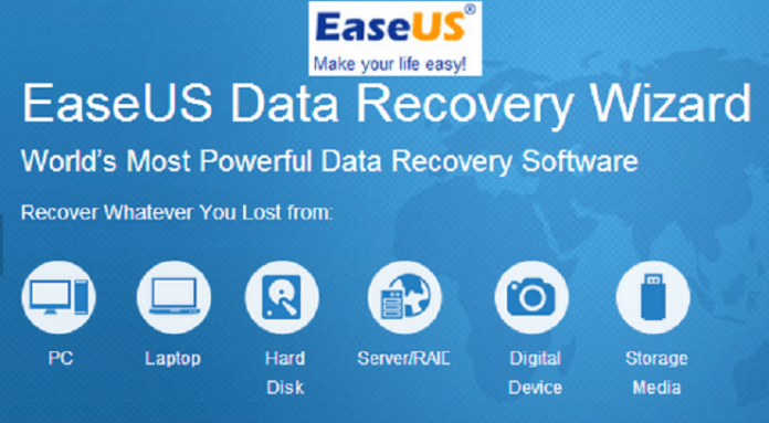 EaseUS dat recovery software