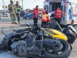 TBIs happen in bike accidents