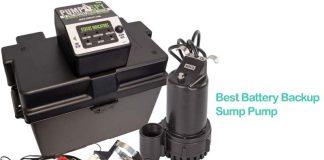 Best Battery Backup Sump Pump