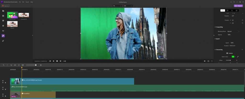Imaginative Green Screen Wondershare DemoCreator