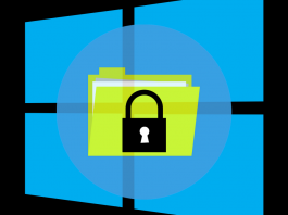 how to password protect a folder