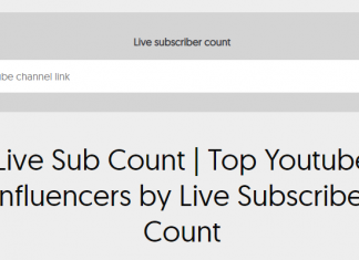 Live Subscriber Tracker Tools