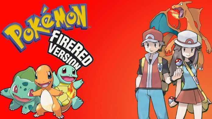 pokemon fire red ROM
